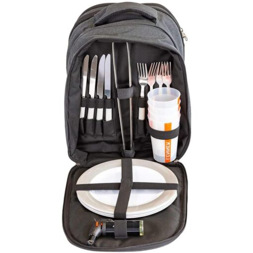 FENNEK Backpack und Grill im Set