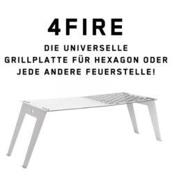 FENNEK 4FIRE Grillplatte