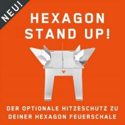 FENNEK HEXAGON STAND UP Hitzeschutz